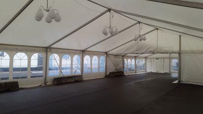 Udlejning af telt med gulv | Vejen-Askov Telt- og Serviceudlejning