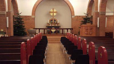 Udlejning af stole til kirke | Vejen-Askov Telt- og Serviceudlejning